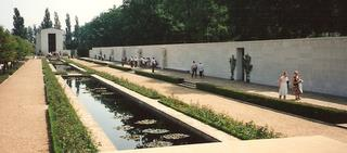 1992 - The Wall of the Missing, American Cemetery, Madingley, Cambridge, UK