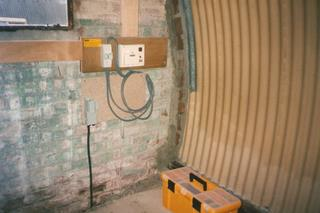 Nissen Hut refurbishment 1