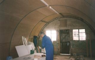 Nissen Hut refurbishment 2