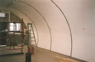Nissen Hut refurbishment 6