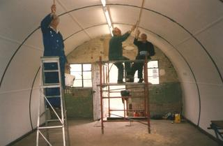 Nissen Hut refurbishment 8