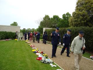 2009 - Floral Tributes are delivered to the cemetery