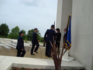 2009 - Ms Jonna Doolittle Hoppes with Officials on the Chapel steps