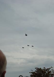 2009 F-15C Missing Man Formation from RAF Lakenheath