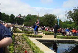 2011 Memorial Day Ceremony, Madingley, UK