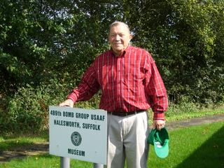 489th Veteran Bob Carlton - September 2008
