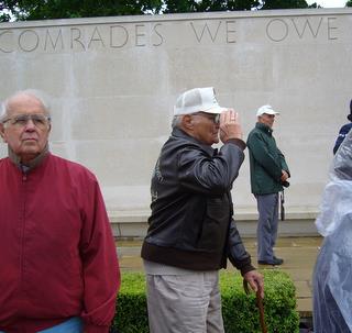 2008 Veteran John Lamar at Memorial Day Service