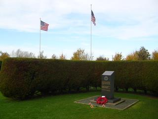 2008 Remembrance Day at the 489th Memorial (Halesworth Airfield)