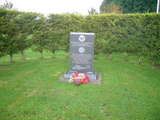 2007 Nov 11th Holton (Halesworth) Airfield Memorial to the 5th Emergency Air Rescue Squadron