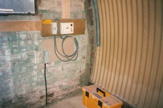 Nissen Hut refurbishment 1