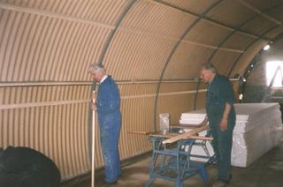 Nissen Hut refurbishment 4
