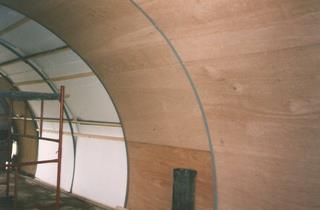 Nissen Hut refurbishment 5