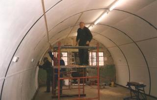 Nissen Hut refurbishment 7
