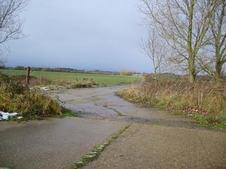 Holton (Halesworth) Airfield looking towards Westhall