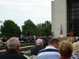 2009 - The Memorial Day Service comes to a close